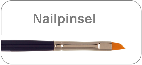 Nailpinsel, Pinsel für Nailart