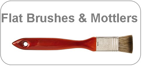 category brushes for grounding, varnish brushes and mottlers