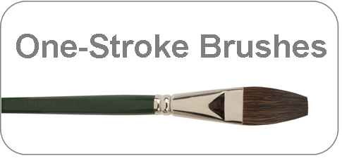 writing brushes - one stroke brushes