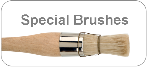 special brushes for art and craft- gilding brushes, mop brushes and more