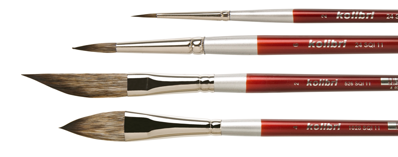professional artist paint brushes