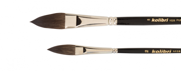 Oval Mop brushes made of best squirrel hair