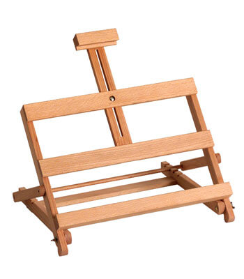 small hobby table easel