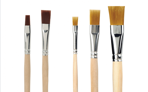 brushes for napkins and decoupage